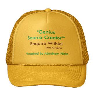 Genius Source-Creator Enquire Within! Cap