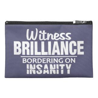 GENIUS VS INSANE custom accessory bags