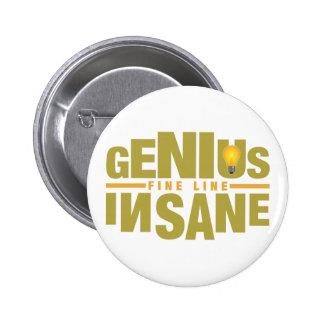 GENIUS VS INSANE custom button