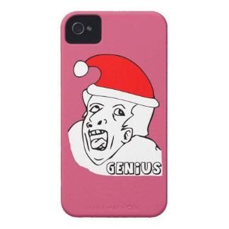 genius xmas meme iPhone 4 cases