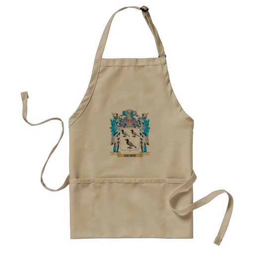 Genke Coat of Arms - Family Crest Apron