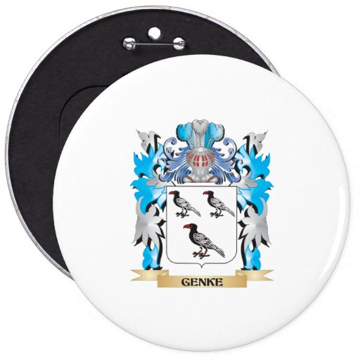Genke Coat of Arms - Family Crest Buttons
