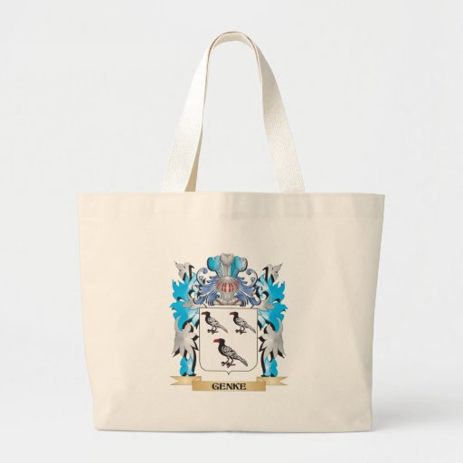Genke Coat of Arms - Family Crest Tote Bag