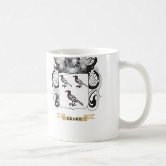 Genke Coat of Arms (Family Crest) Basic White Mug