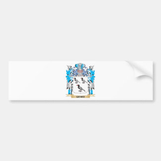 Genke Coat of Arms - Family Crest Bumper Stickers