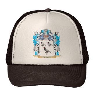 Genke Coat of Arms - Family Crest Trucker Hat
