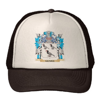Genke Coat of Arms - Family Crest Cap