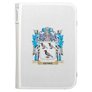 Genke Coat of Arms - Family Crest Kindle Cover