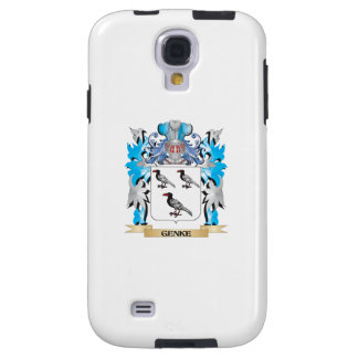 Genke Coat of Arms - Family Crest Galaxy S4 Case