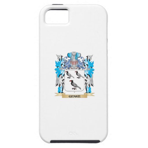 Genke Coat of Arms - Family Crest iPhone 5/5S Case