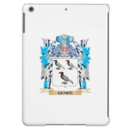 Genke Coat of Arms - Family Crest iPad Air Cases
