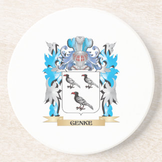 Genke Coat of Arms - Family Crest Coasters