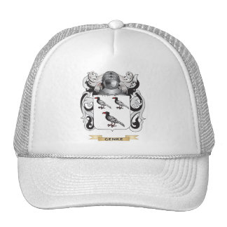 Genke Coat of Arms (Family Crest) Mesh Hats
