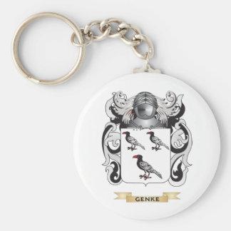 Genke Coat of Arms Family Crest Key Chain