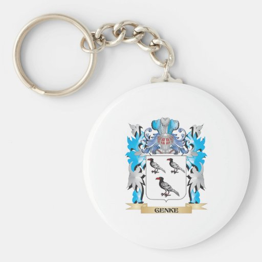 Genke Coat of Arms - Family Crest Keychains