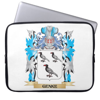 Genke Coat of Arms - Family Crest Computer Sleeve