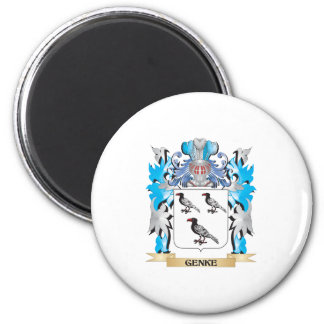 Genke Coat of Arms - Family Crest Refrigerator Magnet