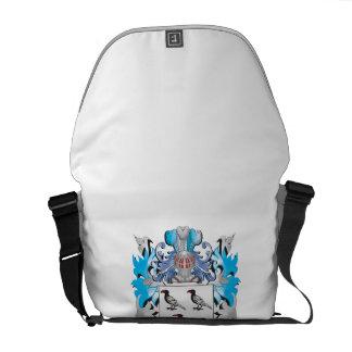 Genke Coat of Arms - Family Crest Messenger Bags