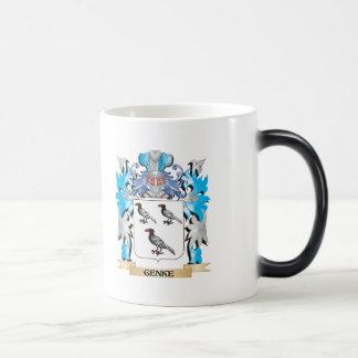 Genke Coat of Arms - Family Crest Morphing Mug