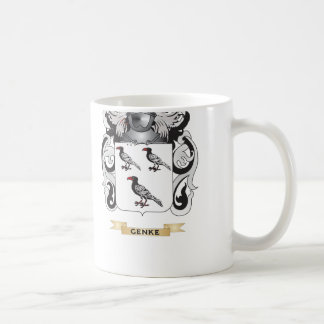 Genke Coat of Arms (Family Crest) Coffee Mugs