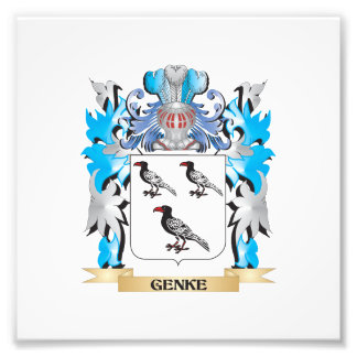 Genke Coat of Arms - Family Crest Photo Art