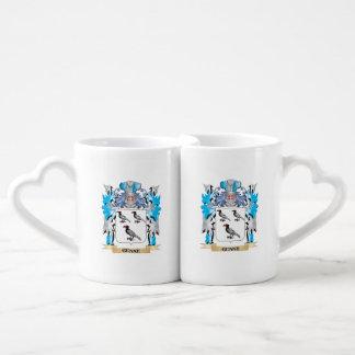Genke Coat of Arms - Family Crest Couple Mugs