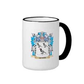 Genke Coat of Arms - Family Crest Ringer Mug