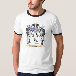 Genke Coat of Arms - Family Crest Tee Shirts