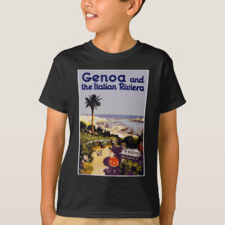 Genoa and the Italian Rivera T-Shirt