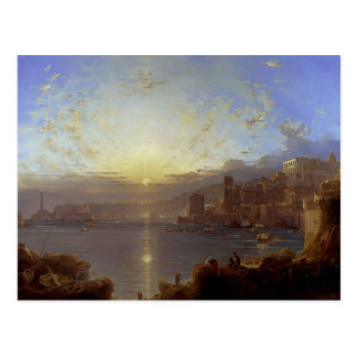 Genoa by Franz Richard Unterberger Postcard