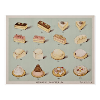 Genoese Fancies Postcard