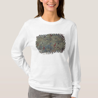 Genoese world map, designed by Toscanelli T-Shirt