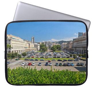 Genova - Piazza Della Vittoria Computer Sleeve