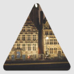 Gent in the Night Triangle Stickers