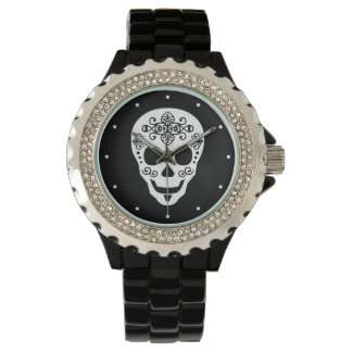 Gent Sugar Skull by Leslie Peppers Watch