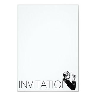 Gentelmen Invitation