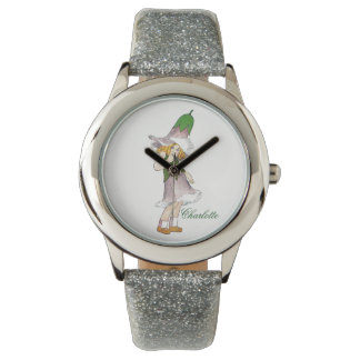 Gentian Cute Flower Child Floral Funny Girl Watch
