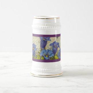 Gentian Flower Mugs