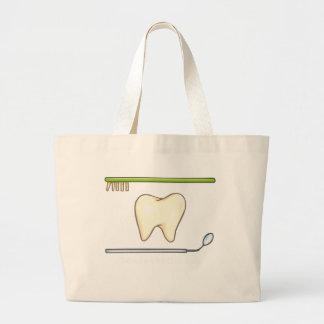 Gentle Dental- tooth mirror explorer Tote Bags