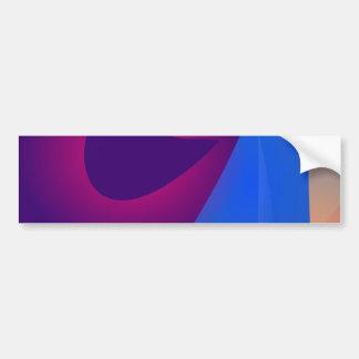 Gentle Expression Navy Bumper Sticker