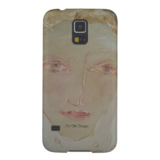 Gentle-Faced Woman with Red Hair phone skin Galaxy Nexus Case
