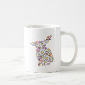 Gentle Floppy-Eared Bunny Coffee Mug