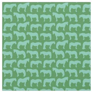 Gentle Giants (customisable horse colour) Fabric