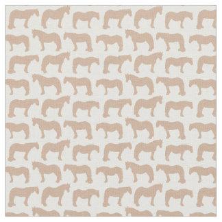 Gentle Giants Fabric (customisable horse colour)