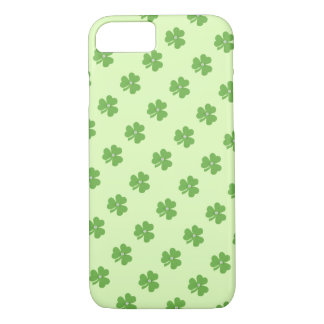 Gentle green clover, for St. Patrick's day iPhone 7 Case