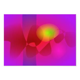 Gentle Green Eye 13 Cm X 18 Cm Invitation Card