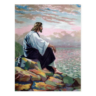 Gentle Jesus Meek & Mild Postcard