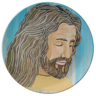 Gentle Jesus Plate
