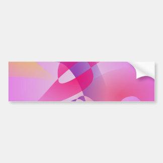 Gentle Lavender Knife Bumper Stickers