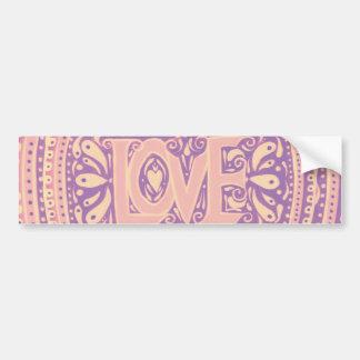 Gentle Love Bumper Sticker